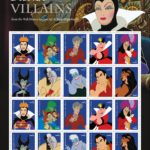New Disney Villains Forever Stamps are Perfect for Globetrotting Kids