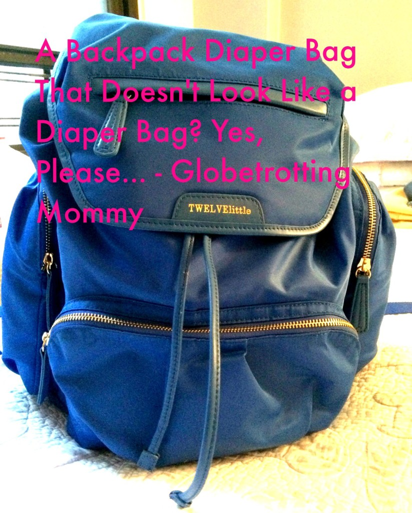 Backpack, diaper bag, Twelvelittle, globetrotting mommy, six flags new england, family travel, traveling with kids