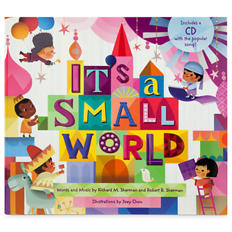 Checking out disneys its a small world collection globetrotting mommy its a small world storybook and cd set publicscrutiny Images