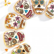 Globetrotting Mommy - Day of the Dead Cookies