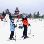 Family Ski Weekend at Mount Snow, Vermont, family travel, skiing with kids