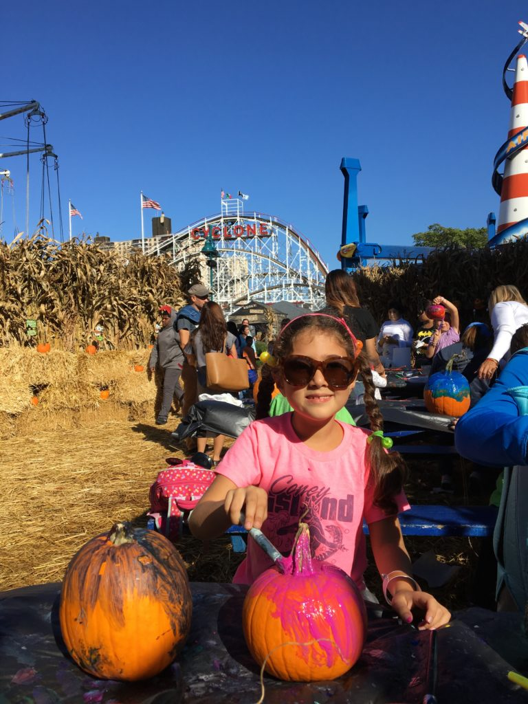 fall fun at coney islands halloween harvest globetrotting mommy