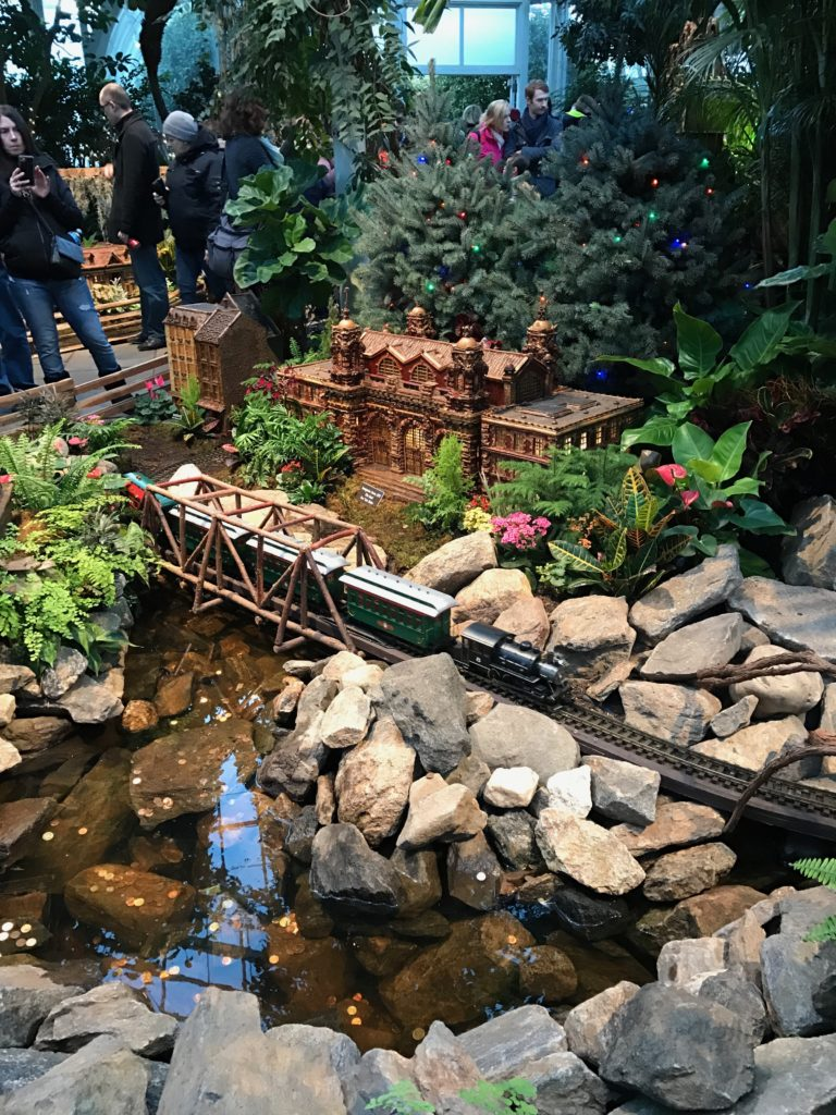 The New York Botanical Garden Holiday Train Show is great for multigenerational visitors.