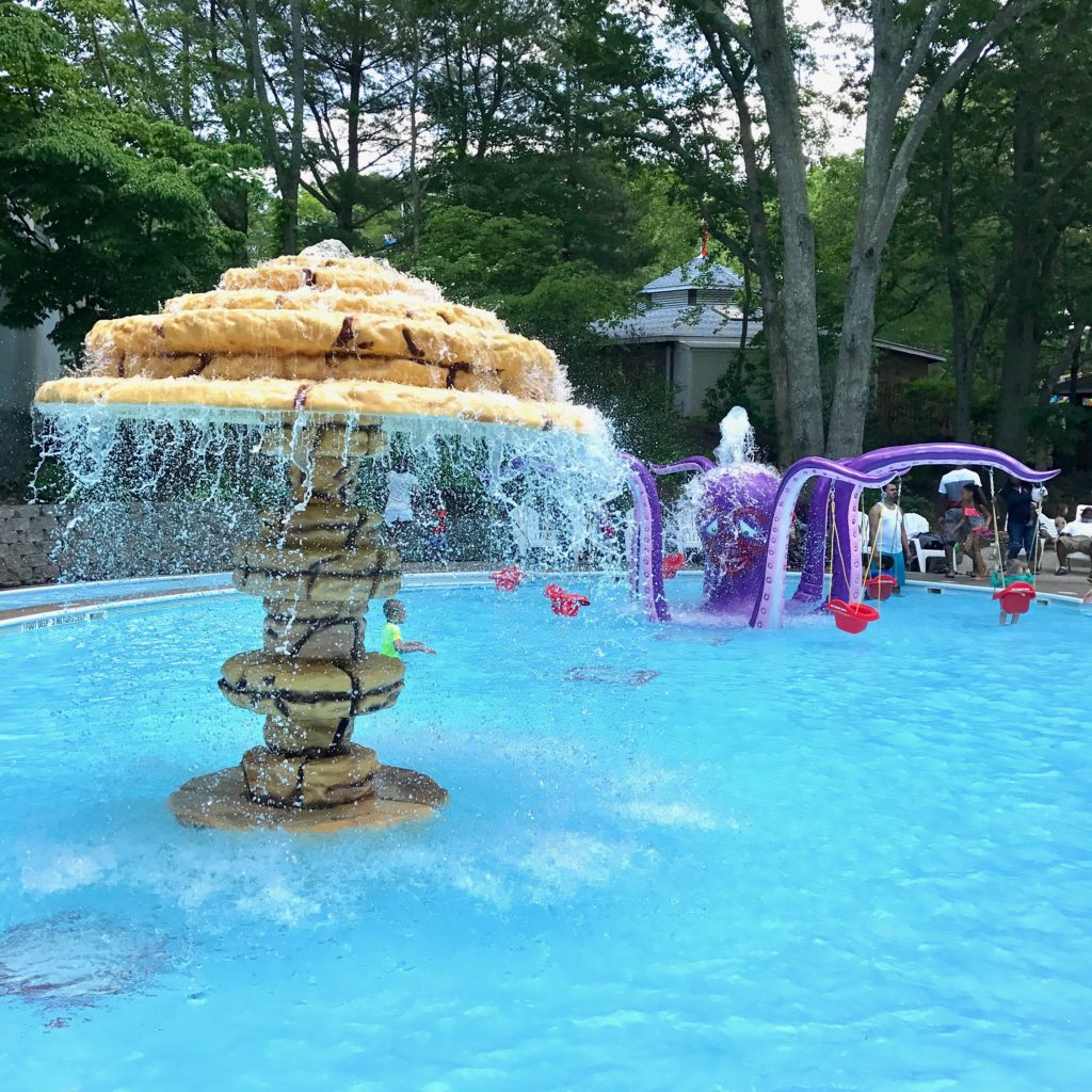The Octopus Pool at Splish Splash is perfect for babies at toddlers.