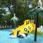 Best Rides at Splish Splash, Long Island. The Yellow Submarine area is a hit with little kids.