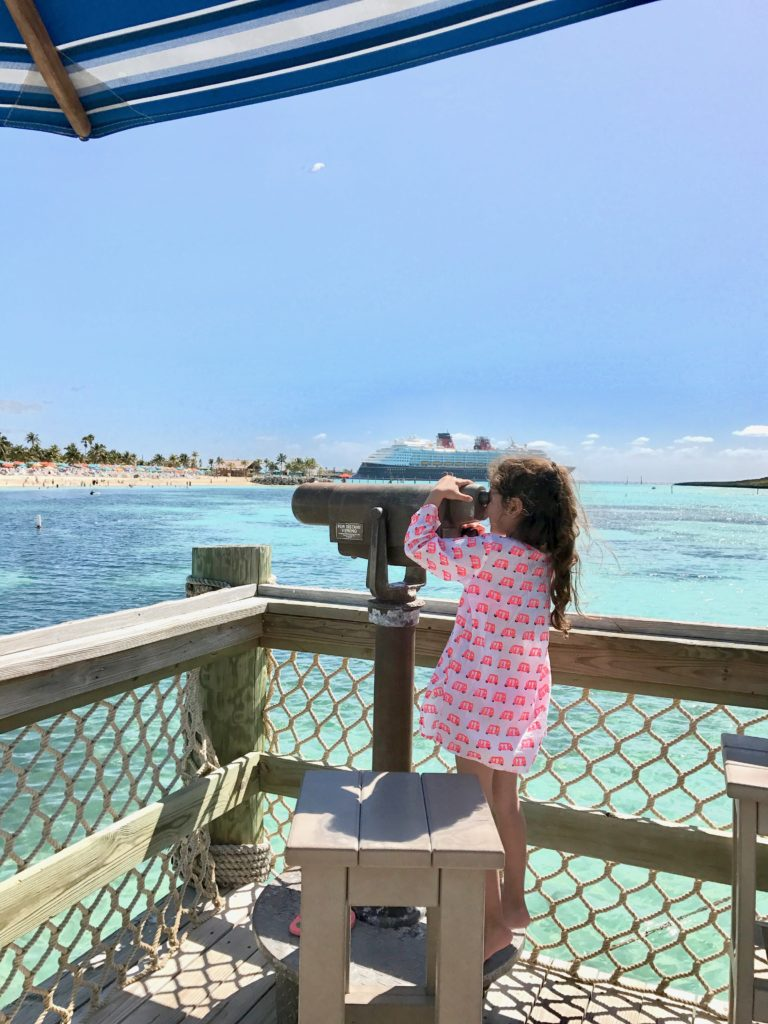 Top 11 Tips for Visiting Disney Castaway Cay. So many awesome lookout points on Disney's Castaway Cay.