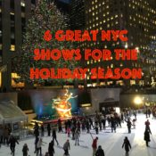 6 Great NYC Shows for the Holiday Season, Broadway, off-broadway, globetrottingmommy
