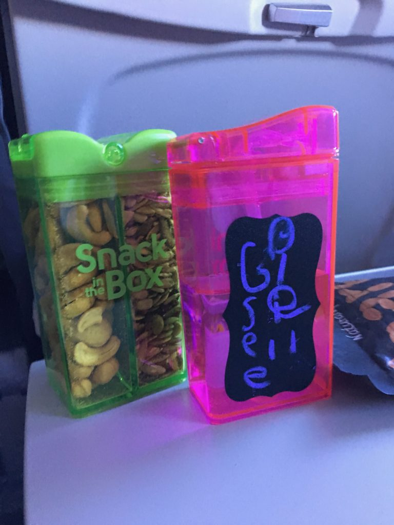 Must Have Travel Gadgets - Snack and Drink Containers