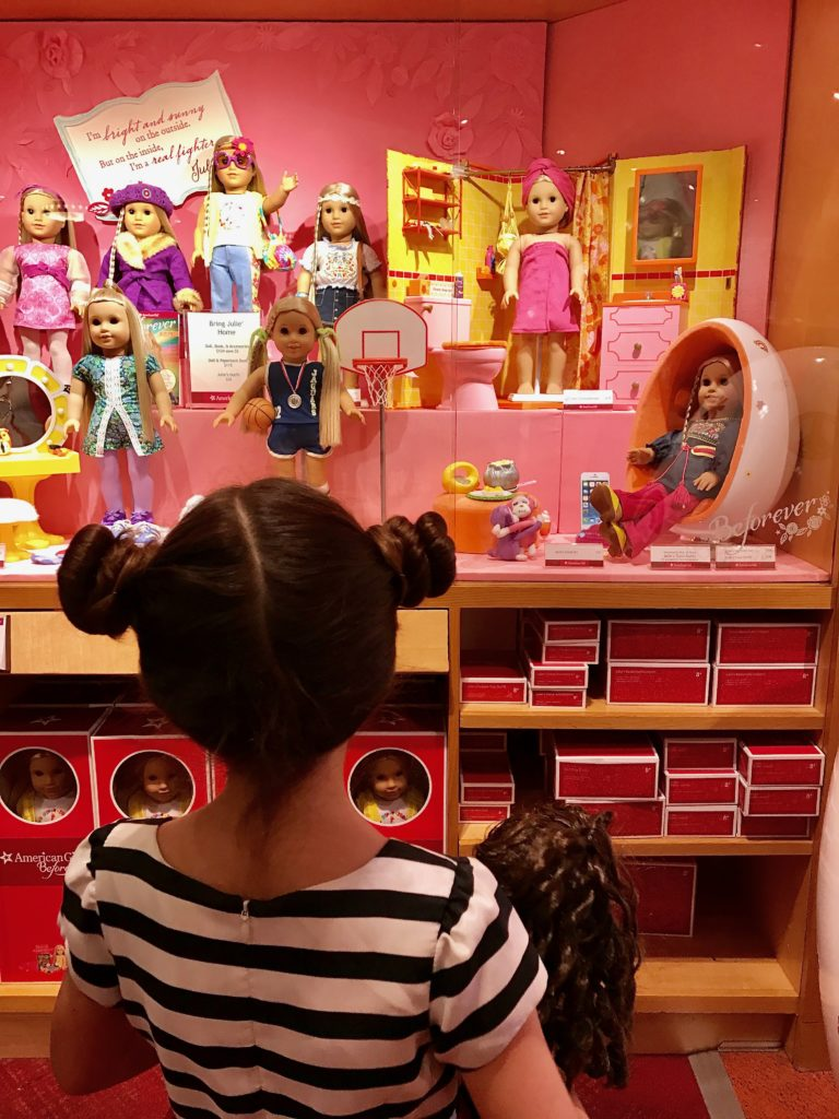 You'll need plenty of time to take it all in at American Girl Place. Tips for Visiting American Girl Doll Place.