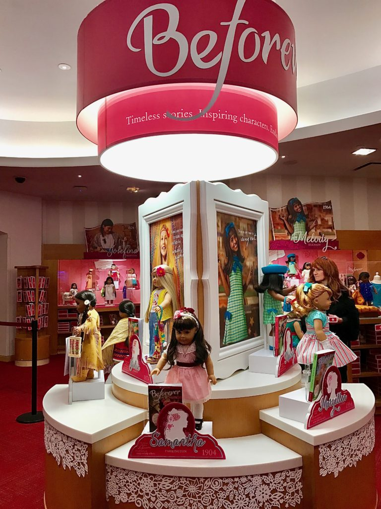The BeForever American Girl Dolls are a great way to get girls interested in history.