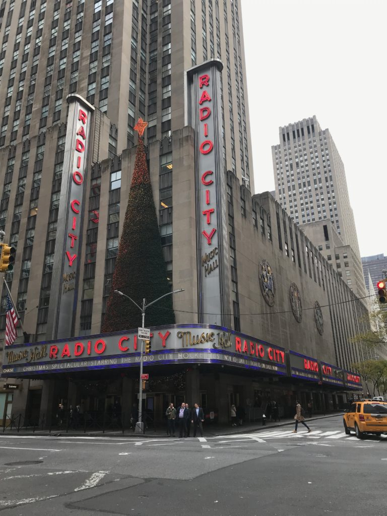Don't miss TheRockettes at the Radio City Christmas Spectacular