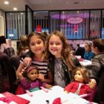 For a special treat, enjoy a meal at the American Girl Cafe.