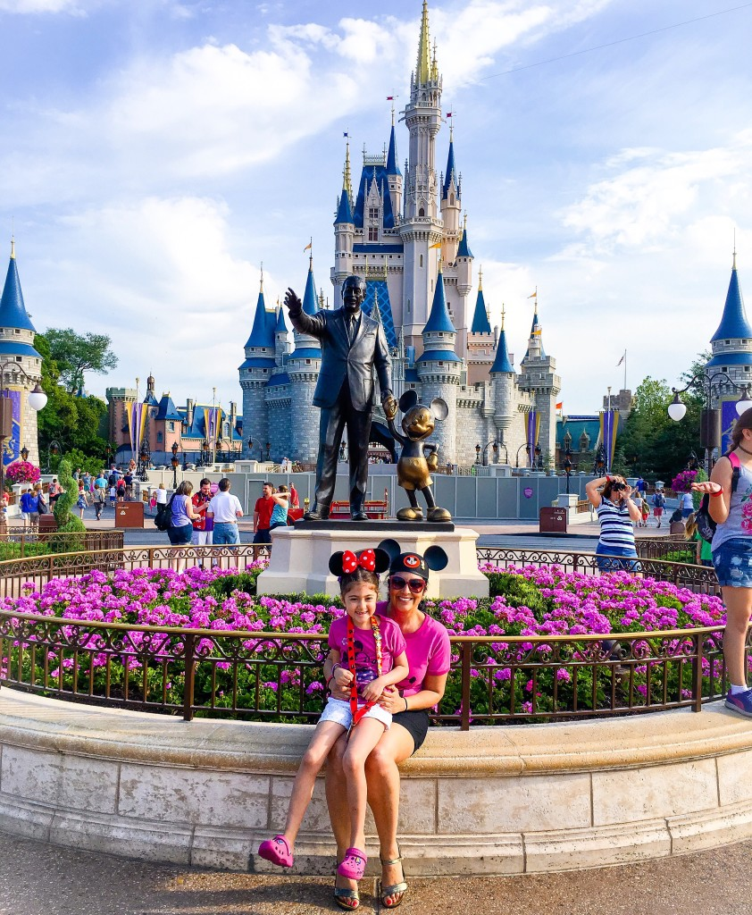 11 Best Things to do at Walt Disney World. Be sure to take a photo in front of Cinderella's castle.
