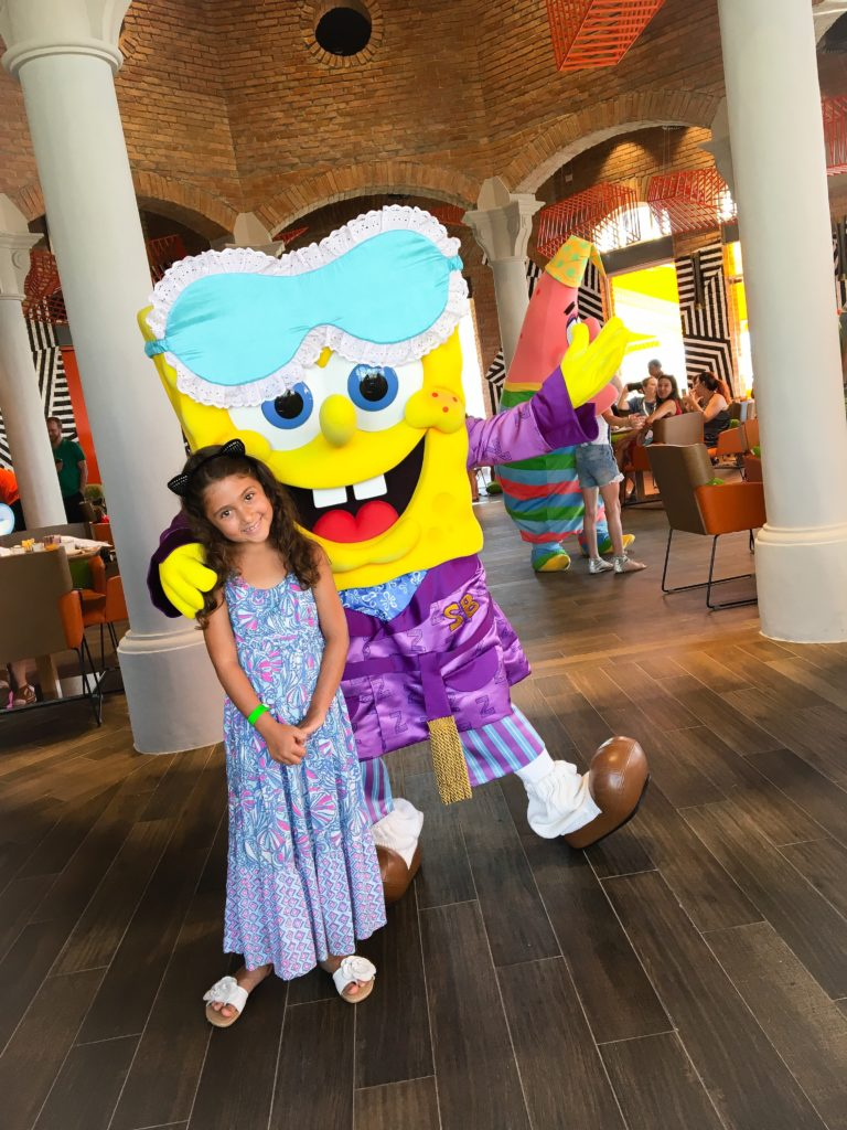 The Nickelodeon character breakfasts are a must for kids.