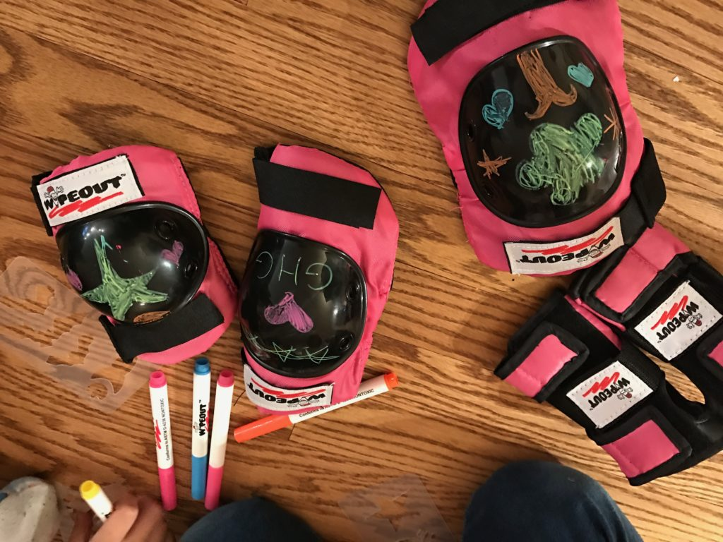 Get Crafty and Stay Safe with Wipeout Dry Erase Protective Gear