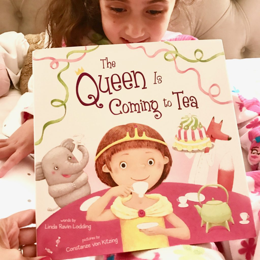 Favorite Books for Kids Who Love Travel: The Queen is Coming to Tea