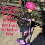Stay Safe On The Go with Wipeout Dry Erase Protective Gear