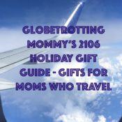 2106 Holiday Gift Guide - Gifts for Moms who Travel