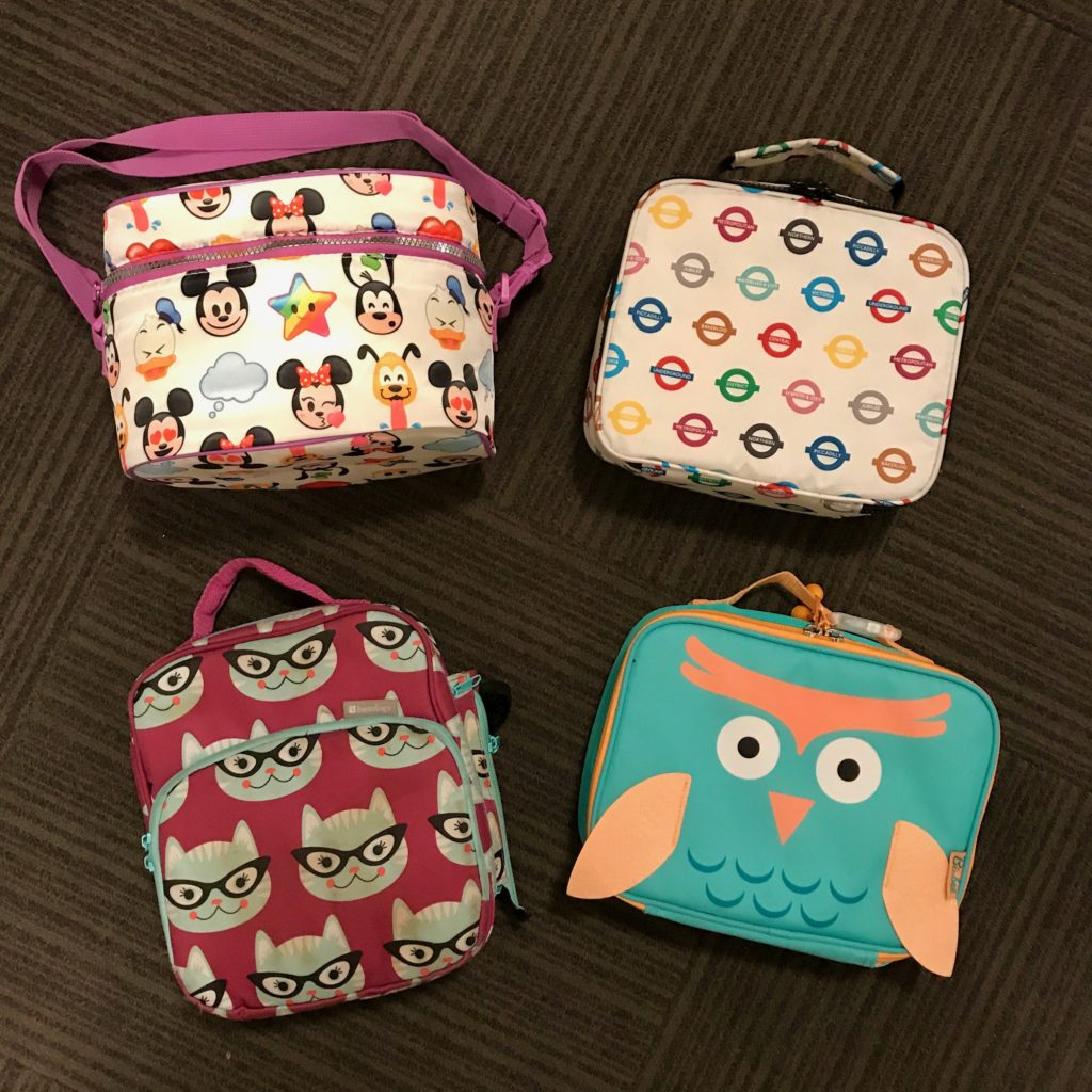 Cool for School - Back-to-School Must Haves for September and beyond. Lunchtime won't be boring with these colorful lunch boxes.