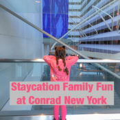 Conrad New York is a great choice for families visiting New York City. #Family Travel