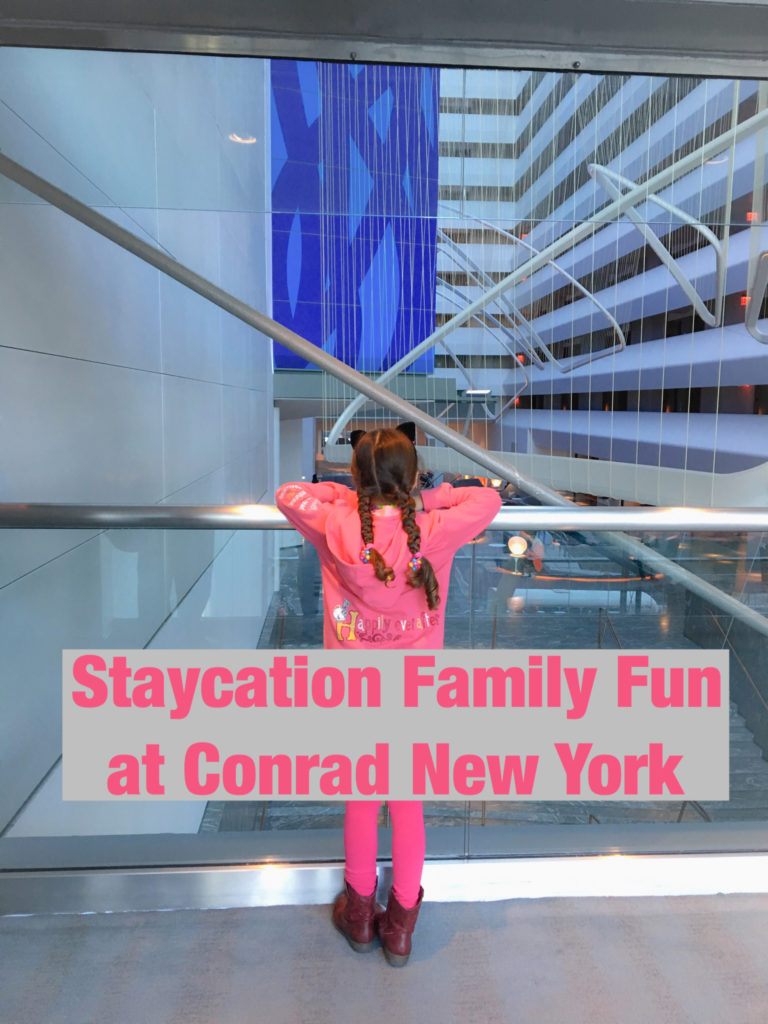 Staycation family fun at conrad new york globetrotting mommy for New york city tours for families