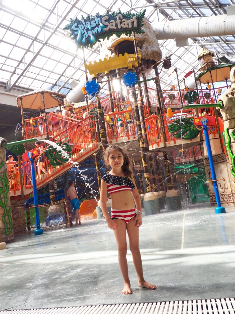 Water Parks 101: What to bring plus Kalahari Resort giveaway! Splashdown Safari is the main attraction at Kalahari Resorts in the Poconos.
