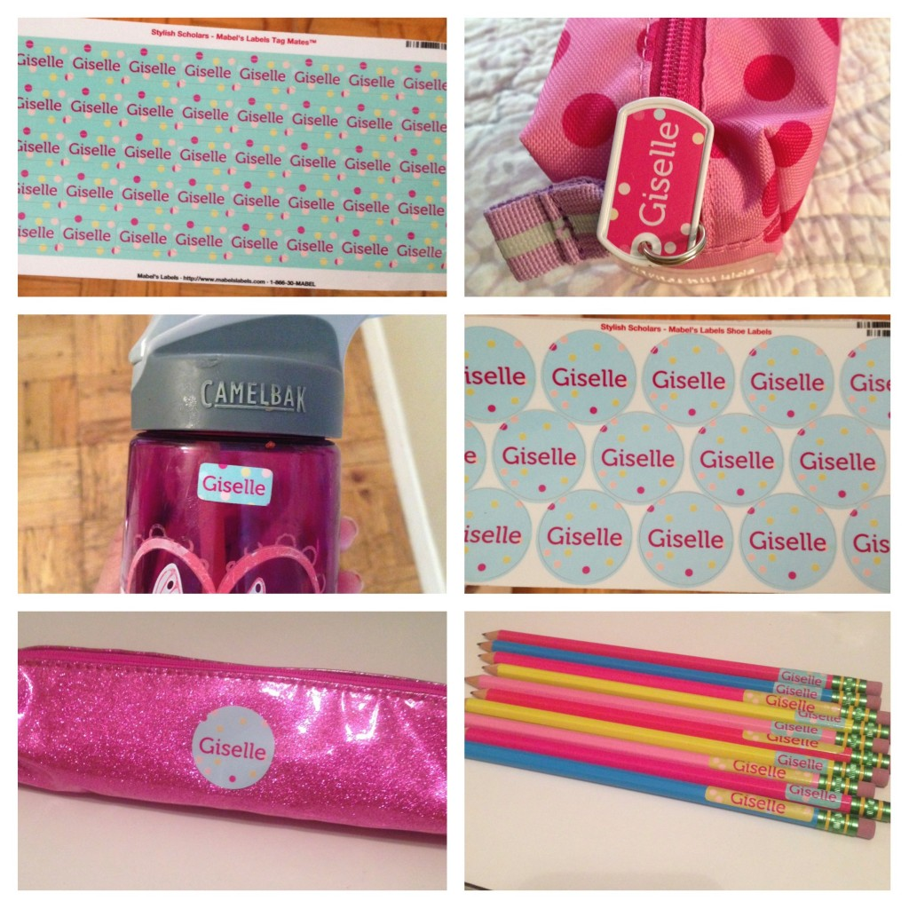 Mabel's Labels, Personalized kids labels, back-to-school, school supplies for kids, family travel