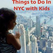 5 Awesome Things to do in NYC with Kids. Globetrotting Mommy. Family Travel. NYC with kids.