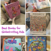 2015 Holiday Gift Guide - Best Books for Globetrotting Kids and Giveaway, Books, Kids, Travel, Giveaway, Gift Guide