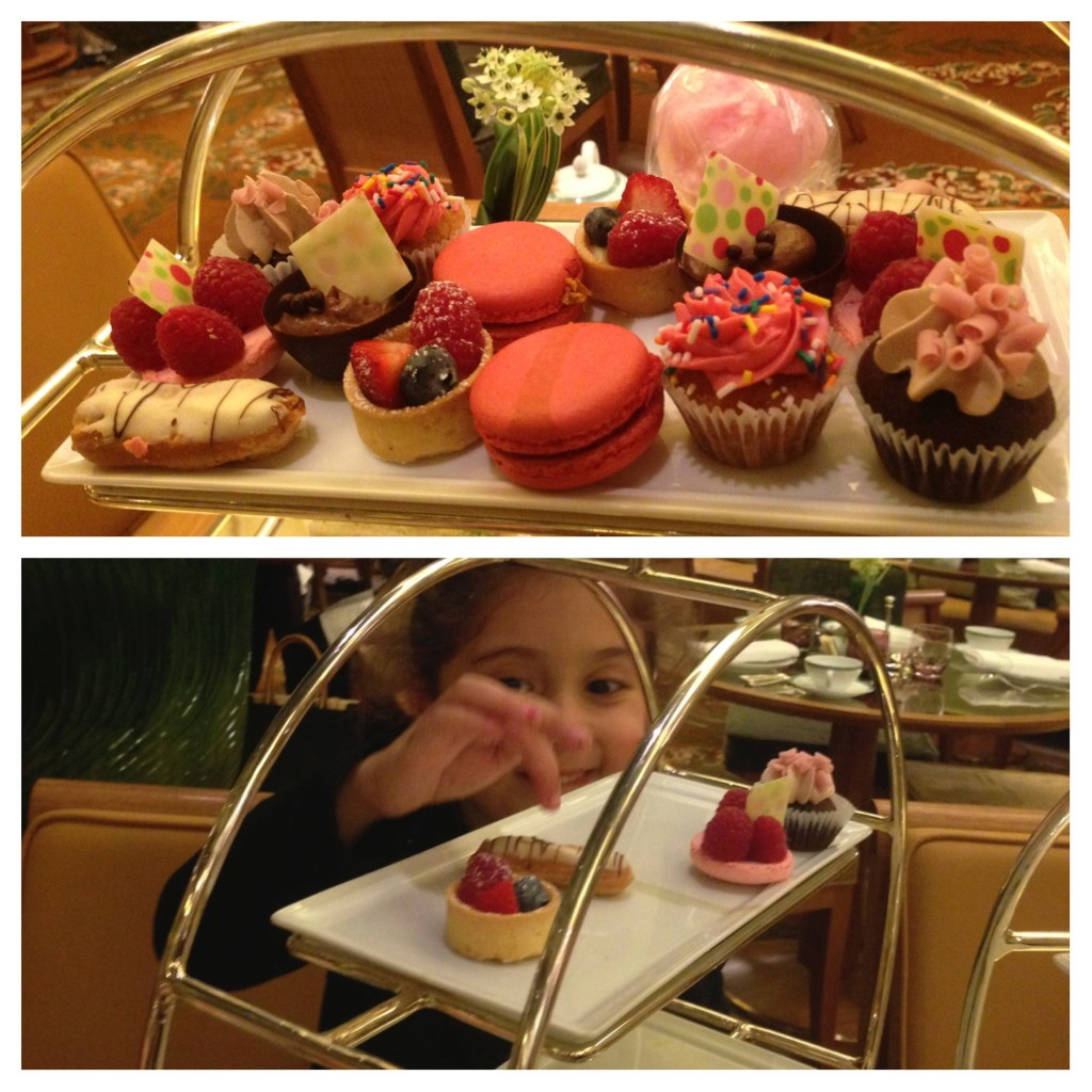Afternoon Tea, NYC, The Plaza Hotel, Eloise Tea, Desserts, NYC With Kids