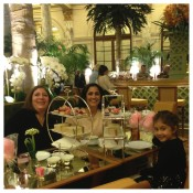 Afternoon Tea, The Plaza Hotel, NYC, NYC Landmarks, Family Travel