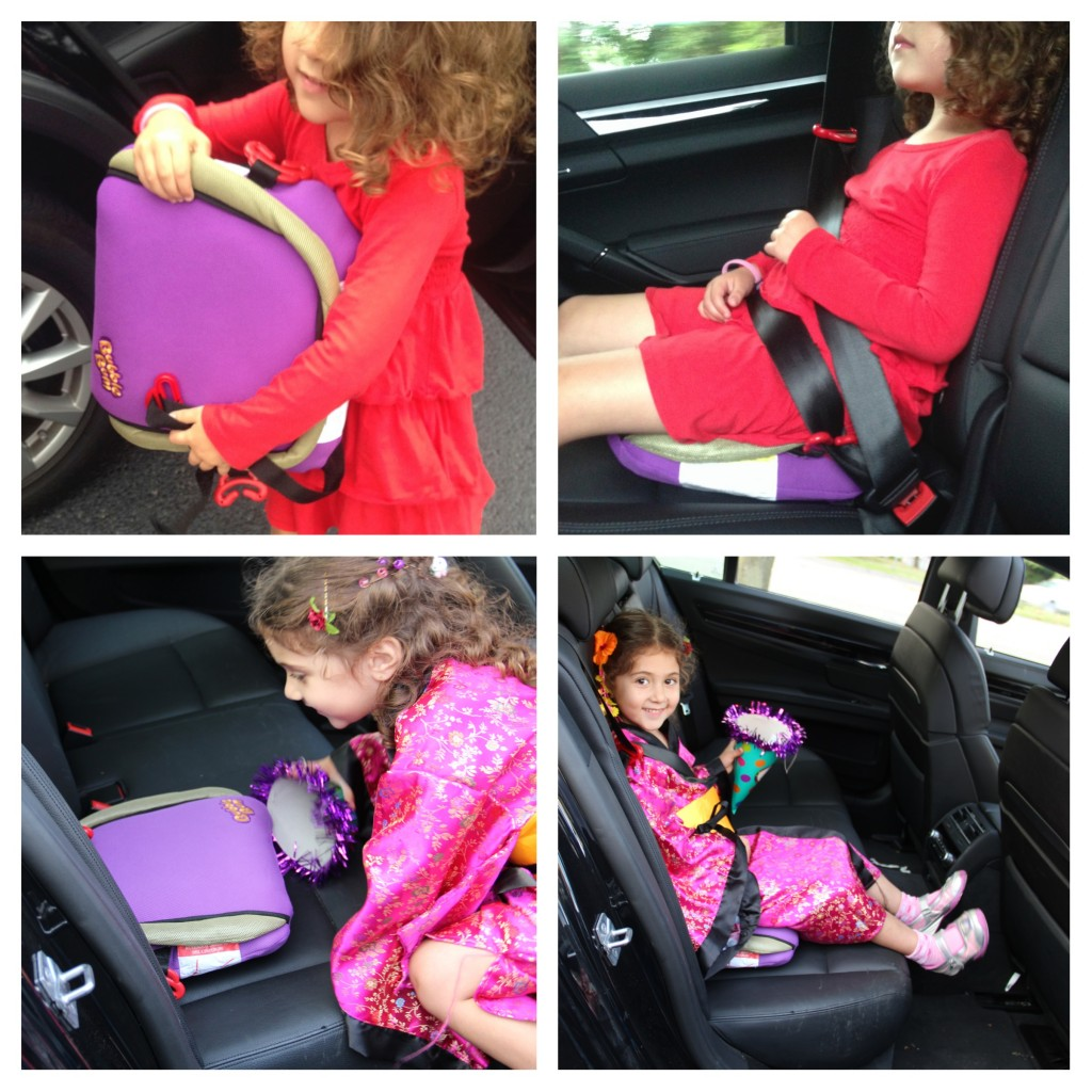 Bubblebum Travel Car Booster Seat Review