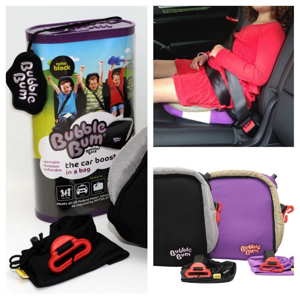 Best Booster Car Seat for Traveling: BubbleBum