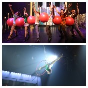 Circus, New York, NYC, Catch Me!, New Victory Theater, Flip FabriQue, Yoga Balls, NYC with kids