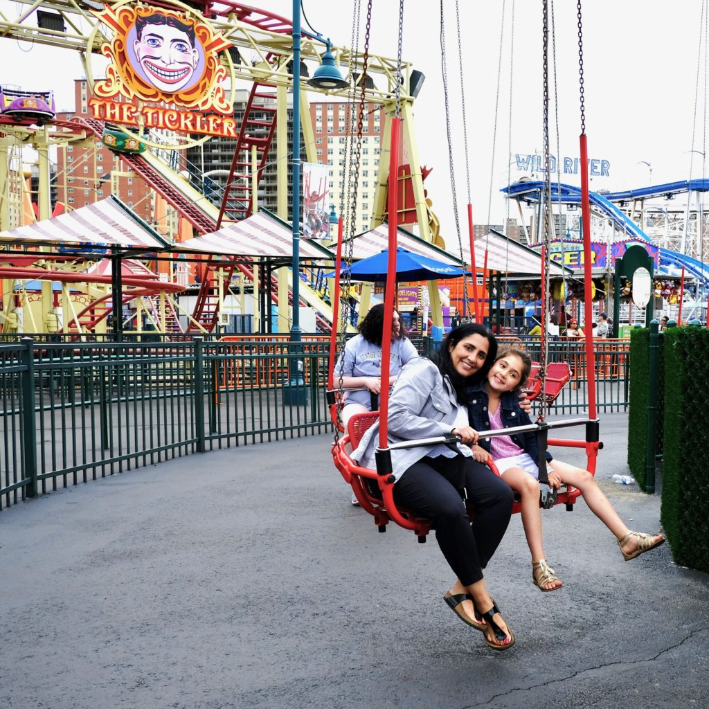 Luna Park has 30 family friendly rides.