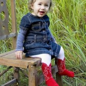 Fashion Must Have, Baby Girls, Great gifts, Wild West, baby legs