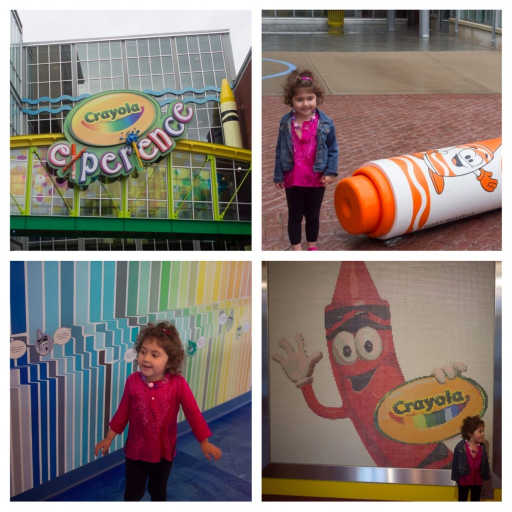 road trip the crayola experience in easton pa globetrotting mommy