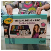 Crayola Virtual Design, Review, Giveaway, Toys, Creative, Fashion, Designer