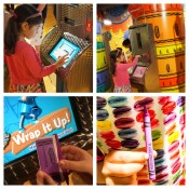 Make a personalized crayon at Wrap it Up!