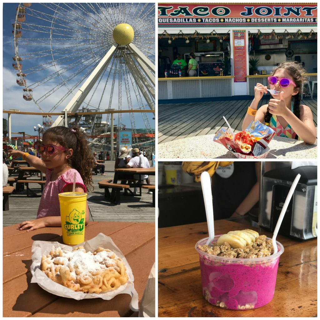 Tasty snacks are everywhere on Morey's Piers. Top 10 Tips for Visiting Morey's Piers in Wildwood, New Jersey