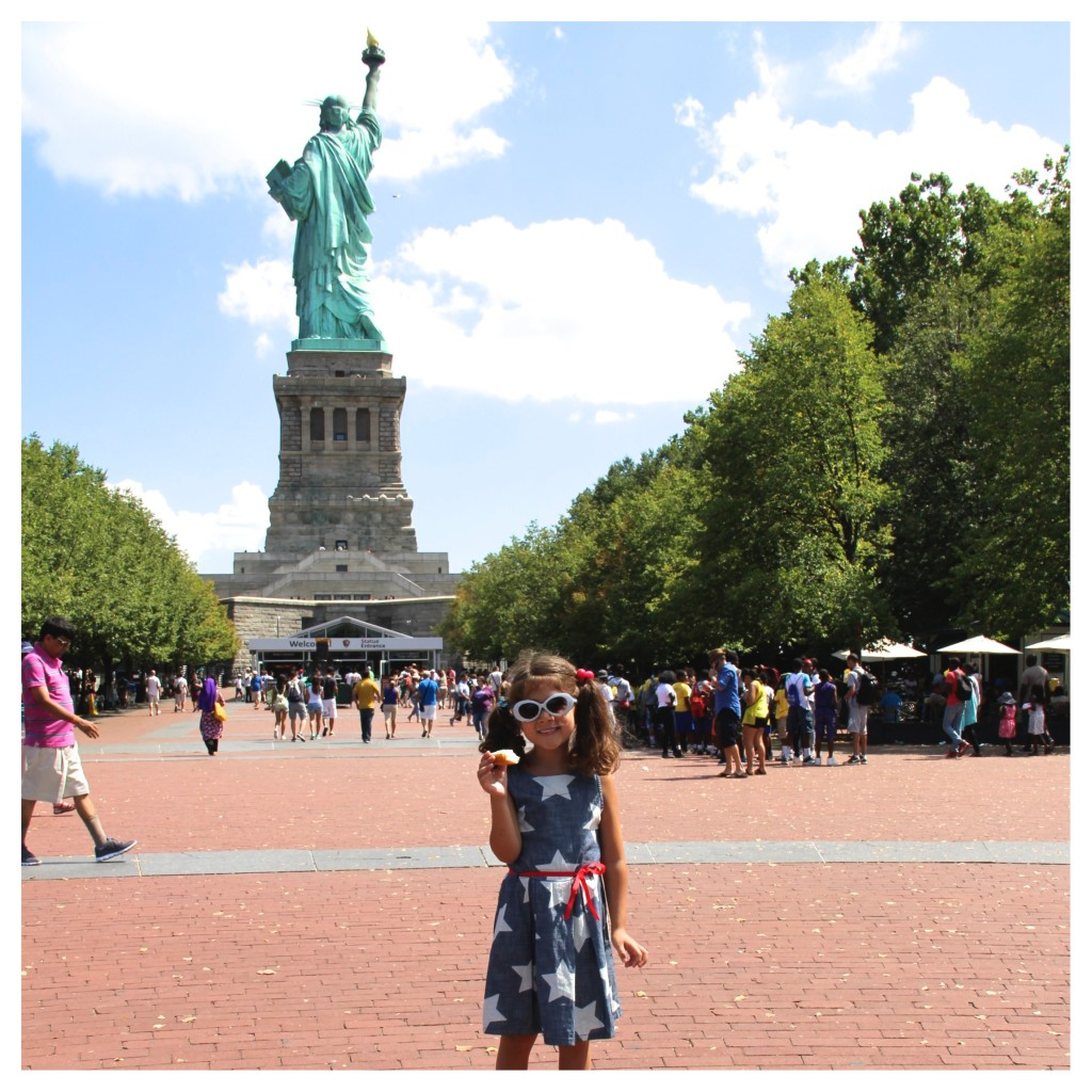 Top 5 Tips for Visiting The Statue of Liberty. There are several spots to enjoy a picnic lunch on Liberty Island.