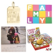 Holiday Gifts, Aunts, Cousins, Grandparents, Nieces, Nephews, presents, jewelry, calendar, games, chocolate, blanket, old navy, globetrotting mommy