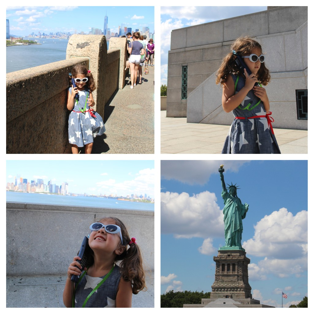 Top 5 Tips for Visiting The Statue of Liberty. Be sure to grab a free audio tour.