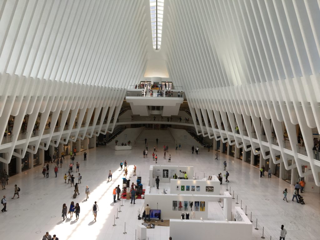 The nearby Oculus is a must see. NYC, Freedom Tower