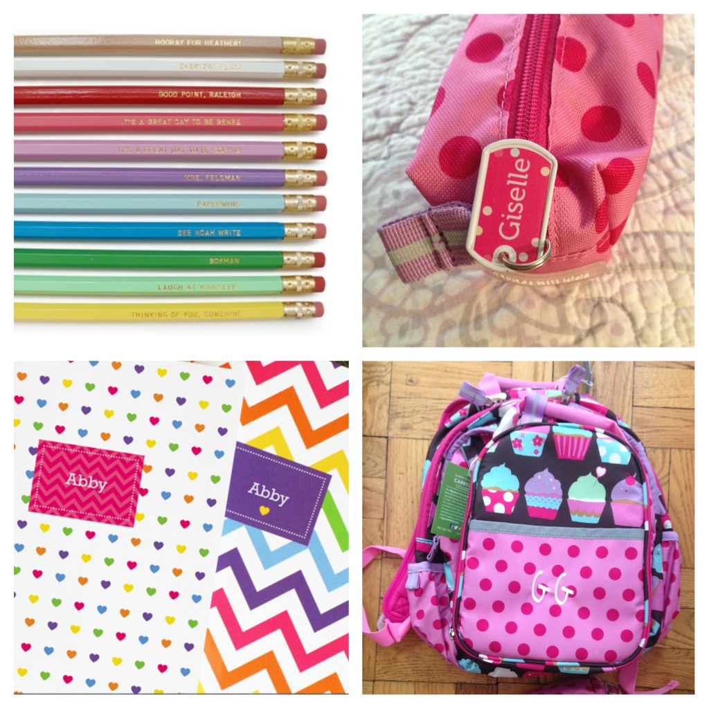 Personalized Kids Picks for Back-to-School and Traveling ...
