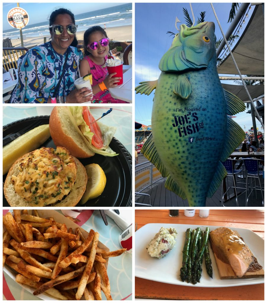 You can enjoy tasty sit down meals at several Morey's Piers restaurants. Top 10 Tips for Visiting Morey's Piers in Wildwood, New Jersey