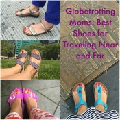 Best Shoes for Traveling, Mom Shoes, Comfortable Shoes, Easy Spirit, Naot, Birkenstock, Waldlaufer, Skechers, Travel Shoes, Globetrotting Mommy