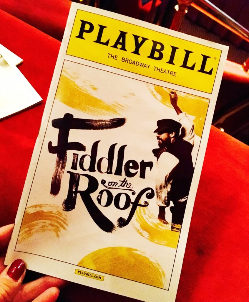 6 Great NYC Shows for the Holiday Season - Fiddler on the Roof, Broadway, Musical, globetrottingmommy