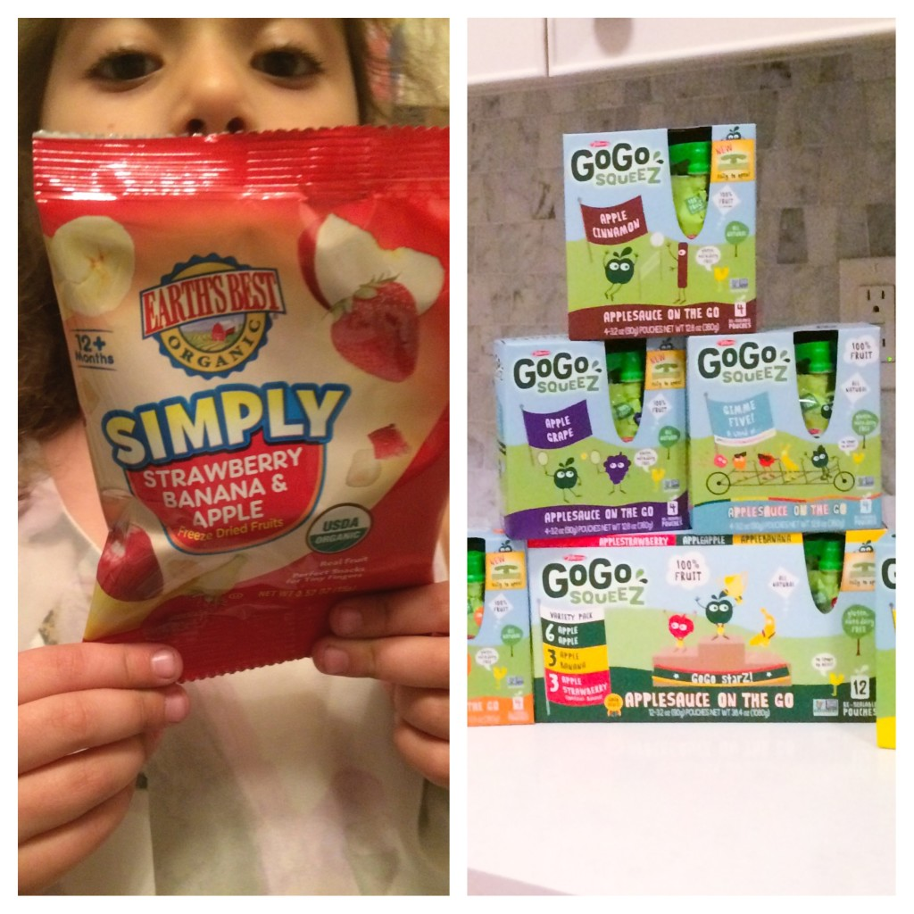 Back to school, snacks, must haves, Earth's Best, Gogo Squeez, Travel, kids