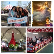 Top Five Kid Friendly Activities, Celebrate Spring, Macys Flower Show, Hersheypark, Luna Park, Cinderella, Frozen Fever, Review